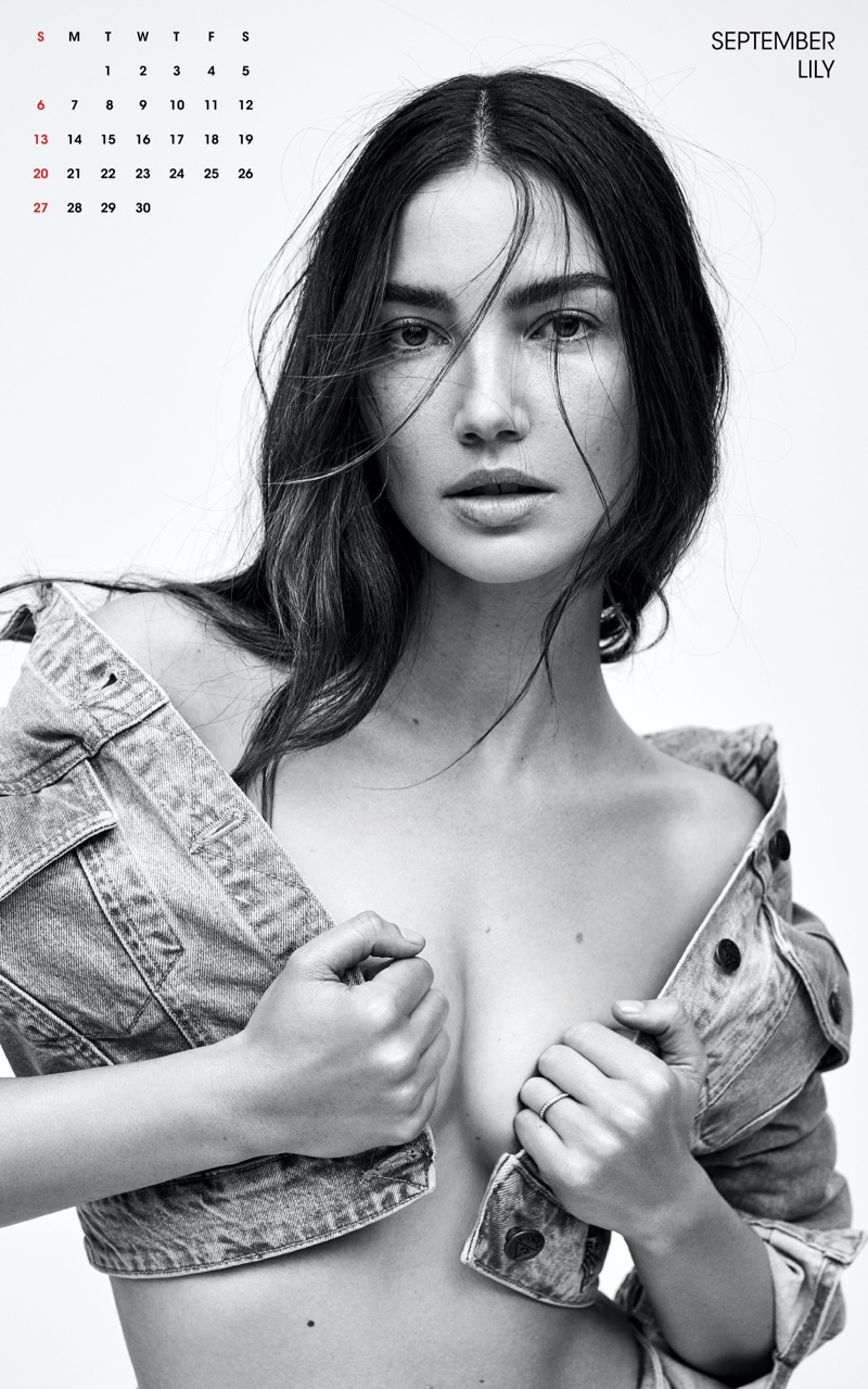 Lily Aldridge for September. Photo: Zoey Grossman for V Magazine