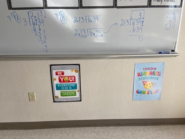 Mrs. Negron 6th Grade Math Class: Lesson 5.4 Dividing Decimals
