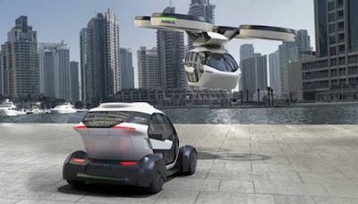Pop.Up: Το αυτοκίνητο που θα γίνεται drone!