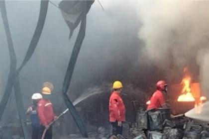 Penyebab kebakaran PT GMA Mojokerto belum di ketahui