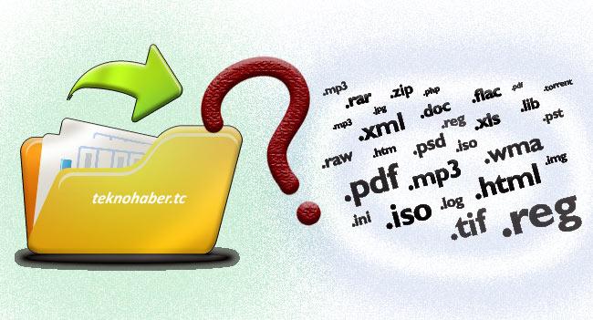 Windows 10 Ve Windows 7'de Dosya Uzantılarını Gösterme