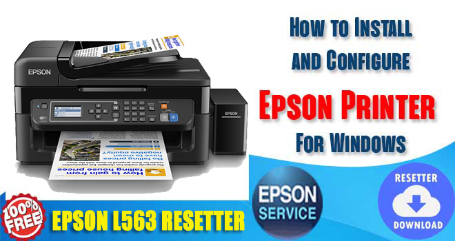 Epson L563 Adjustment Program