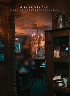 Imagem hamburgueria/restaurante harry potter porão