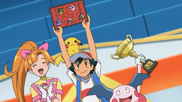 Ash vence a Copa da Flauta