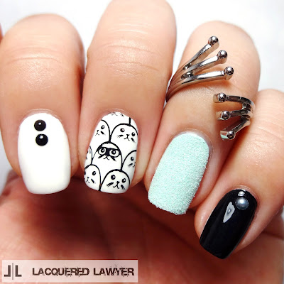 Saucy Seal Nail Art