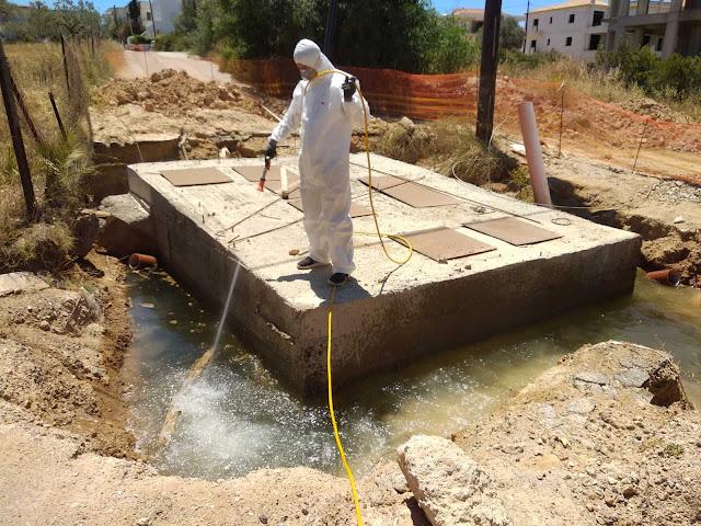 Εκτενείς ψεκασμοί για τα κουνούπια στο Δήμο Ερμιονίδας
