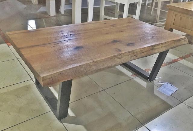 Bàn sofa khung gỗ sồi cao cấp