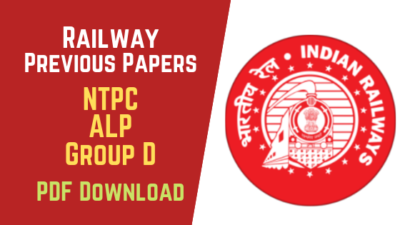 RRB Previous Papers PDF Download Group D, NTPC, ALP