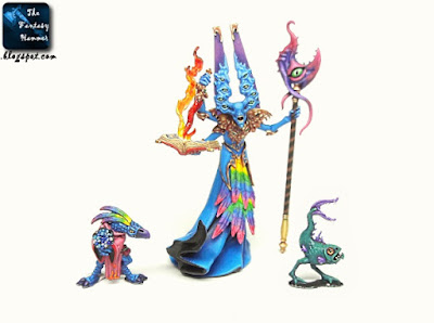 Tzeentch Gaunt Summoner Familiars Slop Tweak