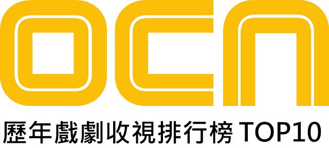 OCN歷年收視排行榜