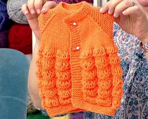 Derya Baykal Portakal Dilimi Bebek Yeleği Yapımı(video)