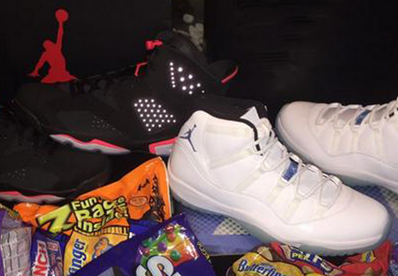 26f2b7ce640d05 Hotly Nike Jordan Shoes Shop  Jordan Shows Off Infrared 6s and ...