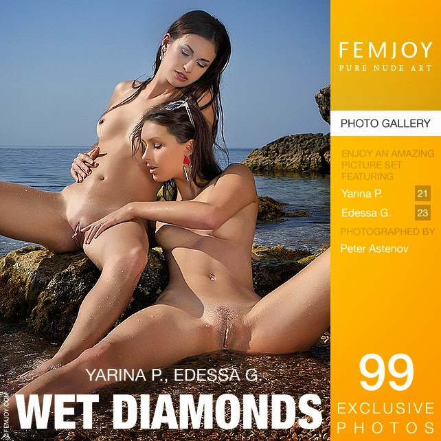 Femjoy0-18 Edessa G & Yarina P - Wet Diamonds 09230