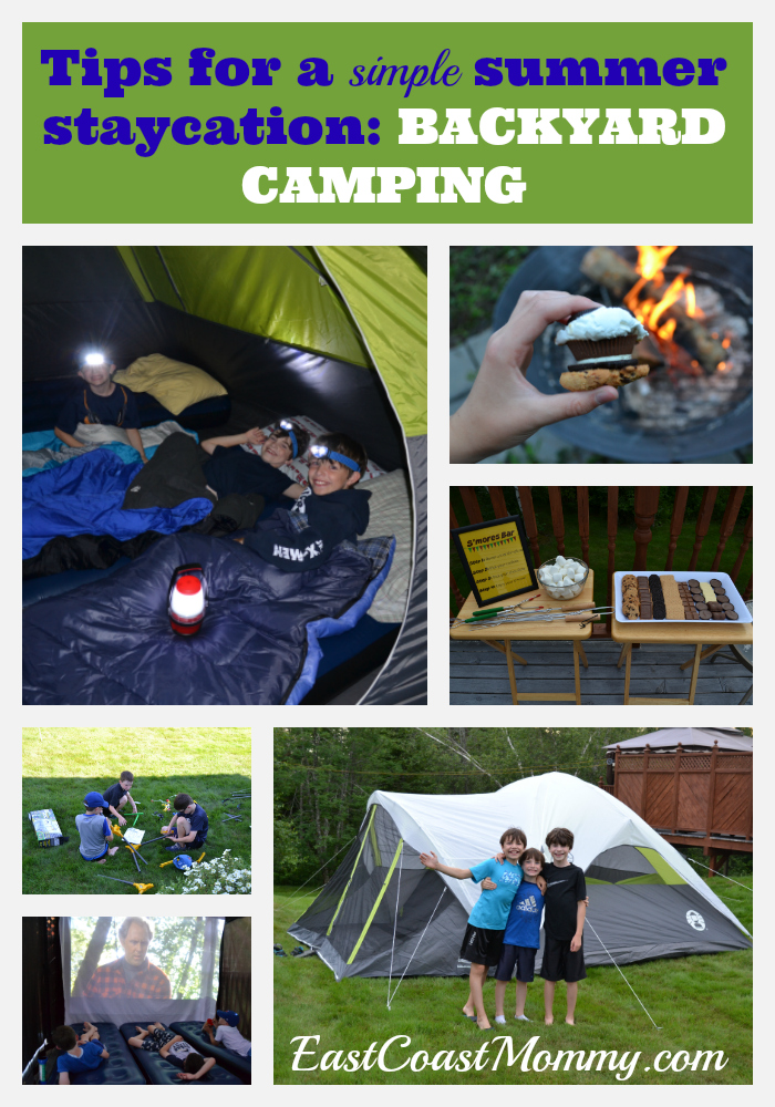 Backyard Camping Tips : First, you are going camping supplies We went to Walmart where I was