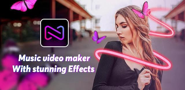 تنزيل Cup Cut-Photo Music Video Editor and Maker -Vidos برنامج صنع الفيديو  بتأثيرات جديدة للاندرويد