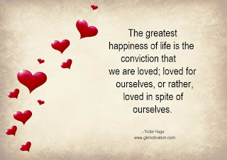 Love-Quotes, Greatest-Happiness, Love-Yourself, Conviction, Love, Heart