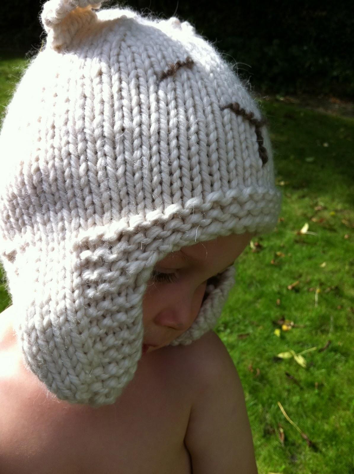 cef4451ae68 Stitch me Softly...  Sleepy Polar Bear Hat - knitting pattern