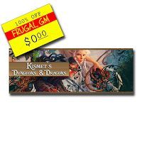 Free GM Resource: Kismet's Dungeons & Dragons