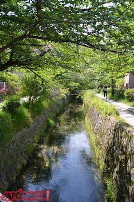 Paseo de la Filosofía en Kyoto