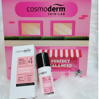 cosmoderm perfect balanced, review cosmoderm perfect balanced, review kotak pink cosmoderm, kotak pink, kotak pink cosmoderm,