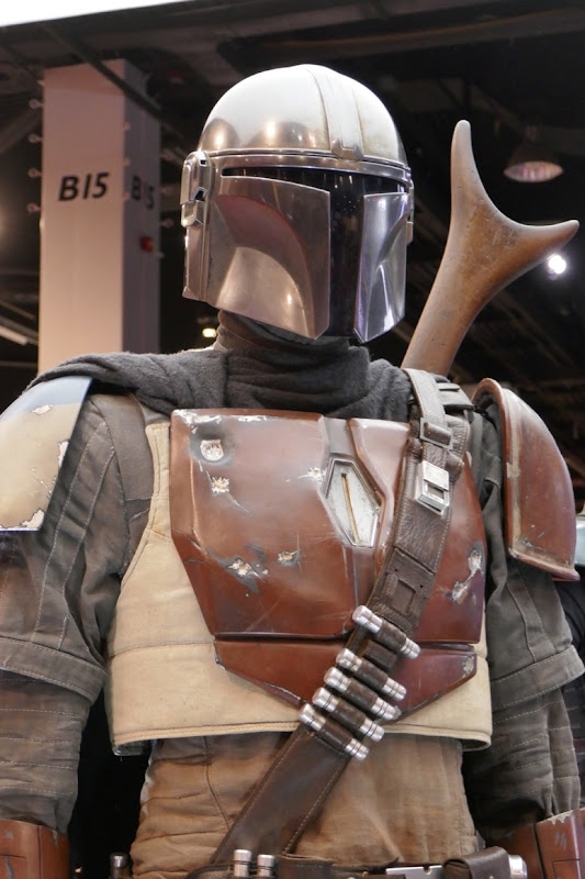 Mandalorian costume helmet
