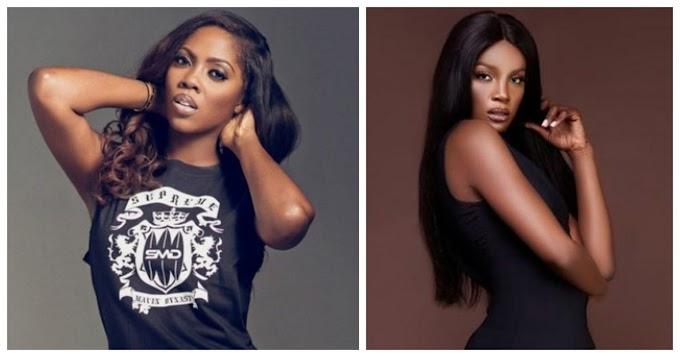 Tiwa Savage & Seyi Shay Fight Dirty Inside Lagos Salon