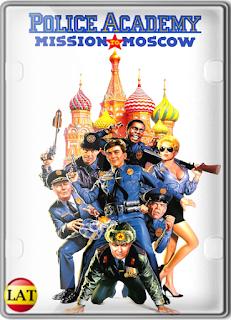 Loca Academia de Policía 7: Misión en Moscú (1994) DVDRIP LATINO/ESPAÑOL