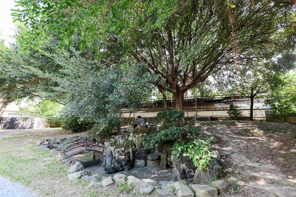台中理仁柏舍美感公園編織好植光,編織藝術搭配老宅免費參觀拍照