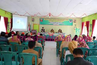 Bersama DLH Pemkab Lambar Laksanakan Pelatihan Pengelolaan Sampah