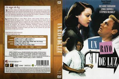 Carátula dvd:Un rayo de luz (1950)No Way Out