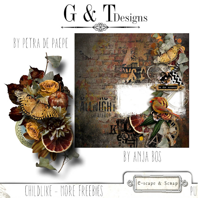 G&T Designs - Childlike - more freebies