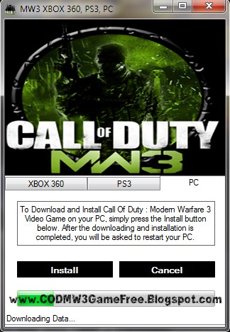Call Of Duty Modern Warfare 3 How To Download Call Of Duty Modern Warfare 3 Free On Xbox 360 Ps3 And Pc