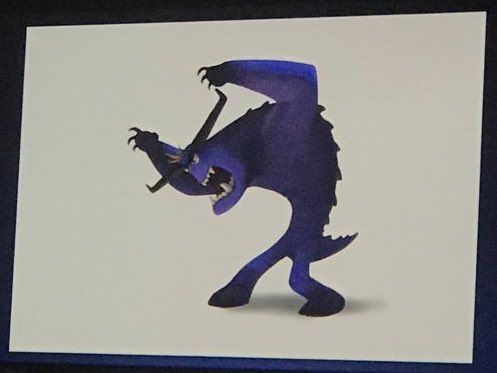Monsters At Work Concept Art from the D23 Expo