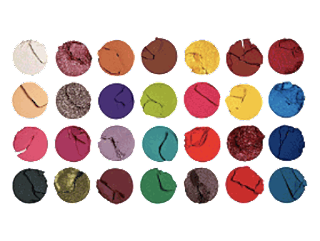 Makeup Revolution X Patricia Bright Rich In Color Shadow Palette-arelaxedgal.com