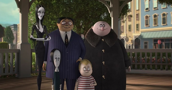 review the addams family