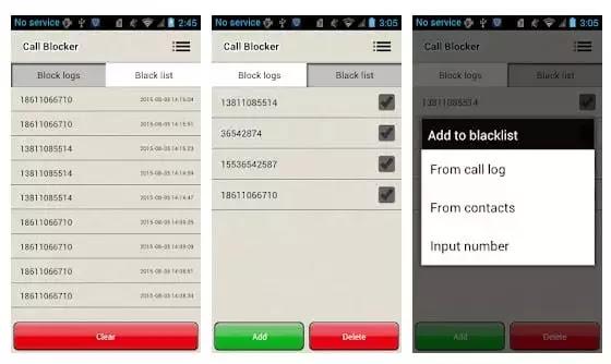 برامج لحظر المكالمات على اندرويد مجانا