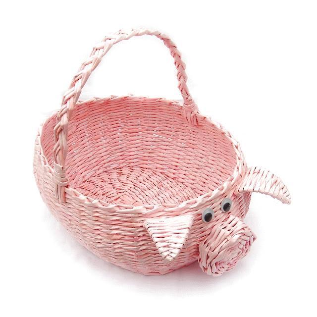 koszyk świnka