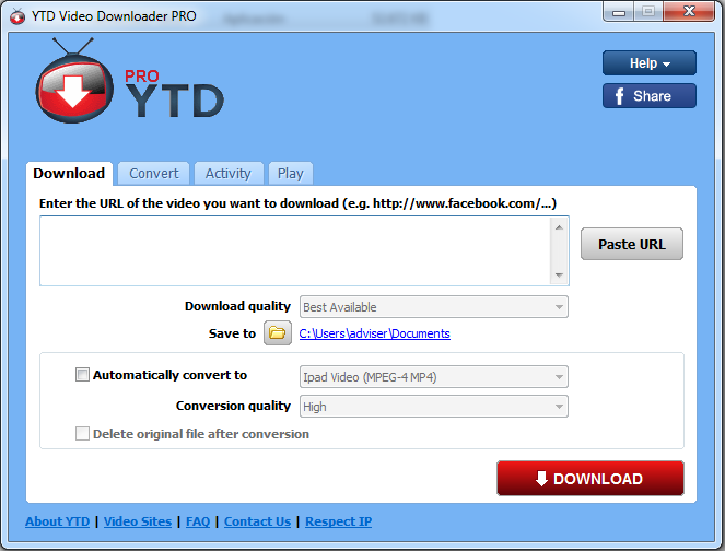 YouTube Video Downloader Pro