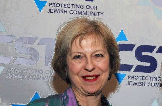 TORY PARTY REAFFIRMS CLOSE TIES WITH JEWISH COMMUNITY