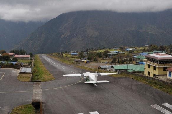 El aeropuerto más alto del mundo es el Qamdo Bangda, en el Tibet
