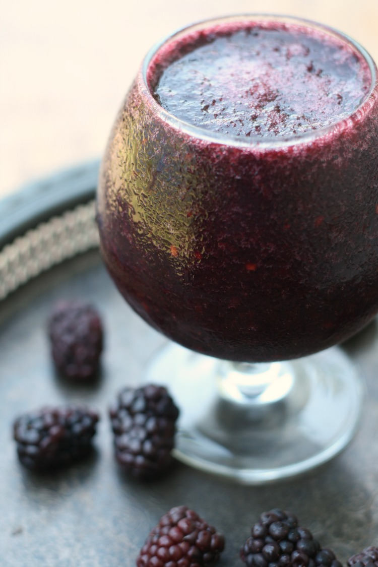 Blackberry Wine Slushies (for Tyrion)   Game of Thrones