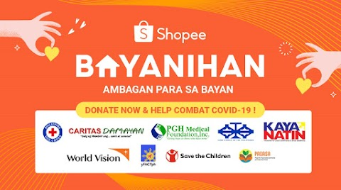 Shopee Bayanihan launched to provide support for medical front liners and Filipinos in need