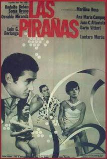 La boutique (Las pirañas) (1967) Comedia con Sonia Bruno