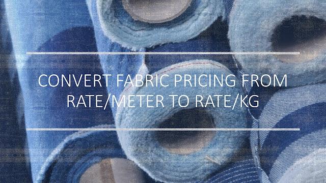 Convert fabric price
