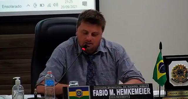 MANOEL RIBAS: VEREADOR REPUDIA SERVIDORES DO MUNICÍPIO QUE ESTARIAM PROPAGANDO FAKE NEWS