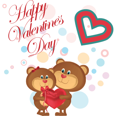 Cute Valentine Teddy Bears
