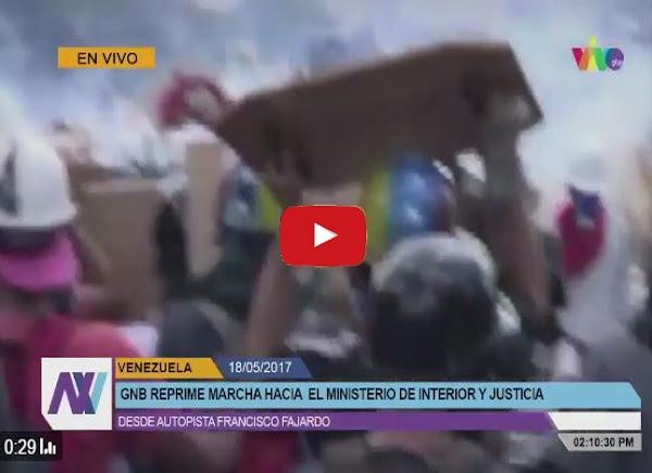 Herido camarógrafo de Vivo Play en la Francisco Fajardo