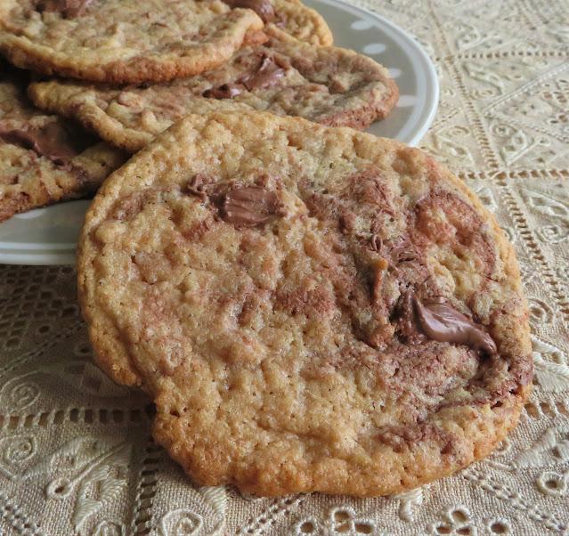 Peanut Butter Nutella Cookies