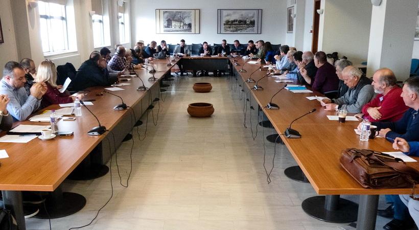 Σύσκεψη του Συντονιστικού Οργάνου Πολιτικής Προστασίας του Δήμου Αλεξανδρούπολης εν όψει της χειμερινής περιόδου