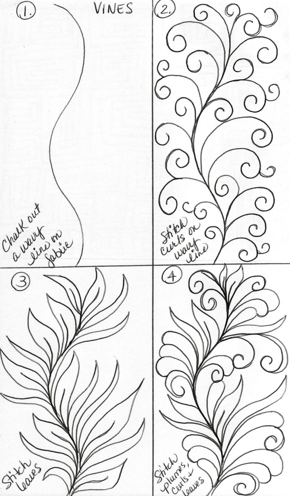 LuAnn Kessi: Sketch Book......Vine Designs
